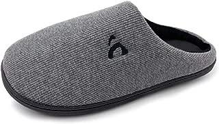 Unisex Memory Foam Slippers Slip On House Shoes