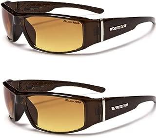 HD Vision Anti-Glare Driving Glasses X-Loop 2 PACK