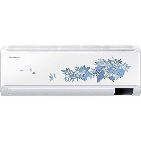 Samsung 1.5 Ton 3 Star Inverter Split AC (Copper, Convertible 5 in 1, HD Filter, 2021 Model, Floral pattern, AR18AYLYATBNNA)