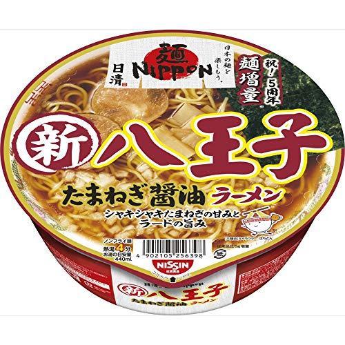 日清 麺 NIPPON 八王子たまねぎ醤油ラーメン 112g