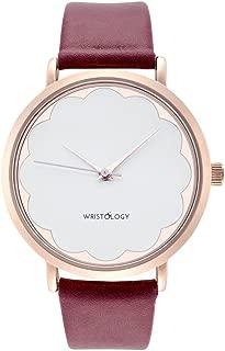 WRISTOLOGY Olivia - 4 Options - Womens Scallop Rose Gold Watch