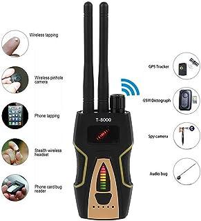 ZYLFN Anti-espía Detector inalámbrico de señales de RF gsm Detector de Audio Buscador de