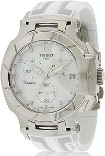 T0484171711600 T-Racechronograph Rubber Ladies Watch