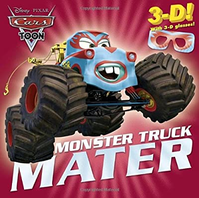 Disney Cars Toon Monster Truck Mater, with 3D glasses