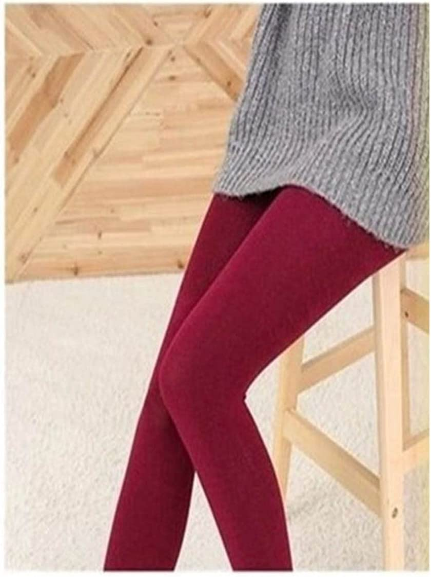 Moonlight Star Autumn and Winter Pantyhose Women Tights Thick Warm Lined Pantyhose High Elastic Waist Thermal Stretchy Slim (Color : Style A, Size : One Size)