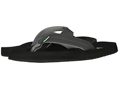 Sanuk Burm (Charcoal) Men