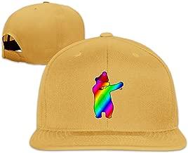 Unique Dabbing Dab Bear Adjustable Dad Hats Baseball Caps Trucker Hats