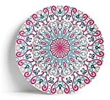 Sabella Home - Plato para servir (40,6 cm), color rosa