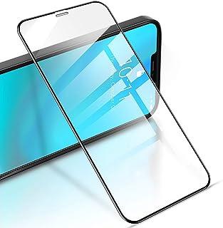RIWNNI Vetro Temperato per iPhone 12 Pro Max [2 Pezzi], 9H Durezza Anti Graffio Pellicola Protettiva Copertura Completa Pr...