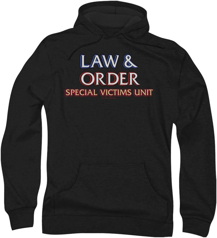 543241b0c4 Law & Order Special Victim's Victim's Victim's Unit - Mens Logo Hoodie  fd3ec2
