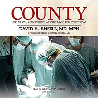 County audiobook cover art