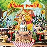 Winnie The Pooh Backdrop | Baby Shower | Party Supplies | 1st Birthday | Babyshowers | Decorations | Banner Photography Background