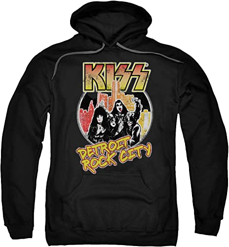 Kiss - - Sweat à Capuche Detroit Rock City pour Hommes