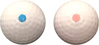 Gender Reveal Exploding Golf Balls Set (1 Pink & 1 Blue Ball) - Perfect For Your Gender Reveal Baby Boy or Girl Party Made By FBA Pro