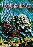 Iron Maiden - Bandera con el número de la bestia.