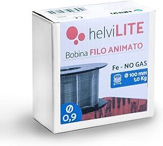 Helvilite 21910109HL - Alambre aniado (no Gas) para soldadur