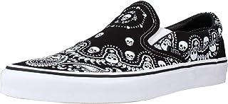 Vans Classic Herren-Sneaker mit schwarzen und weißen Slip-On-Sneakern