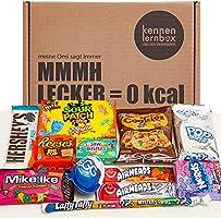 USA Box | Kennenlernbox met 12 populaire snoepjes uit Amerika | Cadeau-idee voor speciale gelegenheden