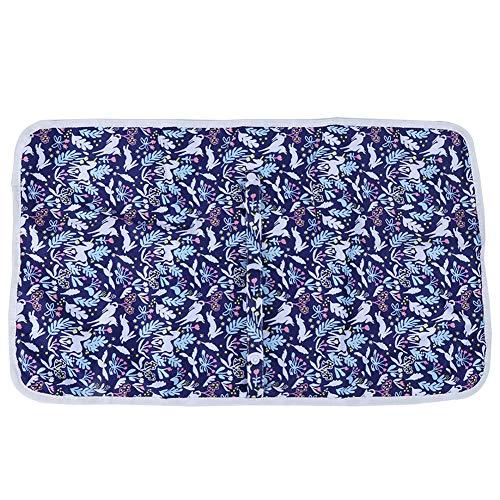 Infant Urin Pad, langlebige Designs ohne Geruch Bequeme Bettunterlage, Reinigung für Autohaus(Royal Blue Animal Forest)