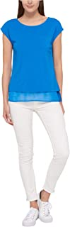 Tommy Hilfiger Womens Layered Look Basic T-Shirt