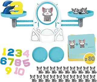 boxoon Kids Math Counting Game Set Cat Counting Learning Toy Math Counting Toy Counting Learning