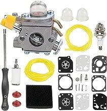 Hayskill C1U-H60 Carburetor 308054003 Carb for Homelite Ryobi 25cc 26cc 30cc String Trimmer Backpack Blower RY28100 RY28120 RY28121 RY28140 RY28141 RY28160 RY28161 UT33600 UT33650