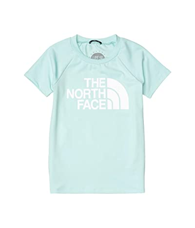 The North Face Kids Short Sleeve Class V Water Tee (Little Kids/Big Kids) (Coastal Green) Girl
