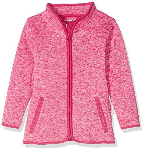 Playshoes Kinder-Jacke aus Fleece, atmungsaktives und hochwertiges Jäckchen mit Reißverschluss, pink, 5-6 Years (Manufacturer Size:116)