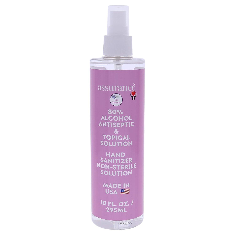 Assurance - Lavender Hand Sanitizer Topics on TV Spray Alcohol 80% 35% OFF Antisepti