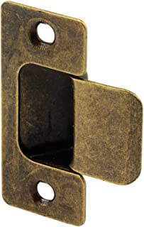 Defender Security U 10277 Adjustable Door Strike, Antique Brass Plated, 2-Piece
