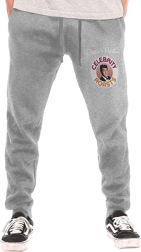 Amazon Com Huaichuanhua Pantalones Colombianos El Dean Martin Pantalones Casual Para Hombre Pantalones Sudaderas Gris M Clothing