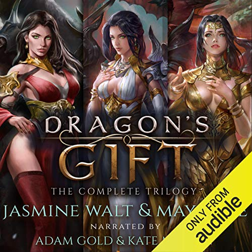 Page de couverture de Dragon's Gift: The Complete Trilogy