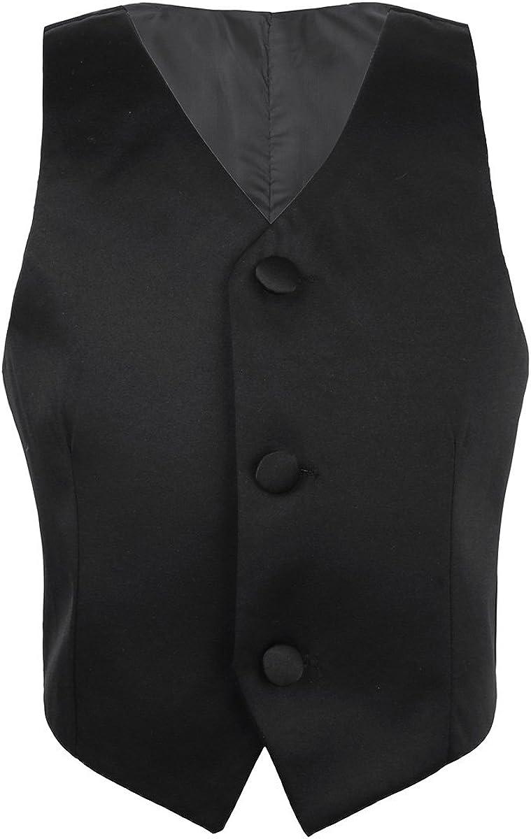 Doomiva Kids Boys Popular overseas Sleeveless Lowest price challenge Shiny Tuxedo Suit Fo Pattern Floral
