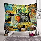 Elf colgante de pared decoración mandala tapiz bohemio hippie...