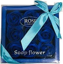 ShopAIS 9 Blue Rose Gift Box Valentines Gift Best Gift for Girlfriend Boyfriend Husband Wife Birthday - Blue