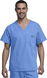 Workwear Originals Men Scrubs Top Tuckable V-Neck 4789