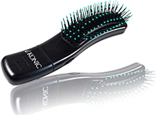 Healthy hair growth scalp and Neck Massaging Hair Brush For Relaxation With Soft Bristles to restore natural luster Improve Hair Texture also great for detangling hair 2 speeds,battery operated