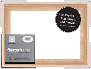 Ampersand Floaterframe for Wood Panels, 7/8 Inch Depth, Thin, 9x12 Inch, Maple (FTHIN780912M)