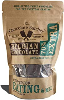 Extra Dark Chocolate 70% Cocoa Content — Chopped for Snacking or Melting …