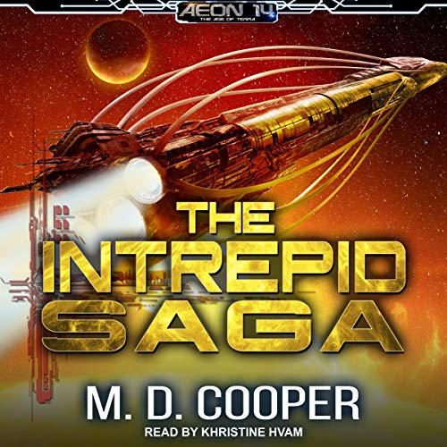 The Intrepid Saga: Books 1-3 & Orion War: Destiny Lost  By  cover art
