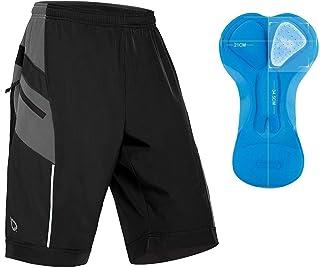 Baleaf Men's Mountain Bike Shorts 3D Padded MTB Bicycle Shorts Quick Dry