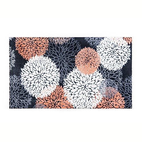 KLEEN-TEX Teppich Floralis 70cm x 120cm Teppichläufer Fußmatte Bodenbelag