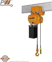 1 Ton Electric Chain Hoist Power Trolley 20 ft. G100 Chain M4/H3 230/380/460V