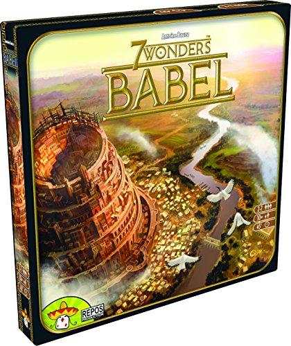 Asmodee 7 Wonders - Babel, Erweiterung,...