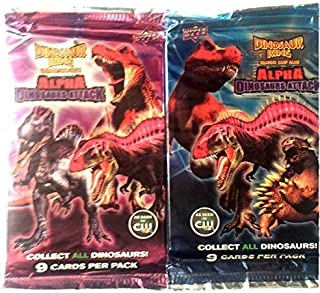 Upper Deck Dinosaur King Trading Card Game Booster Pack - (18 cards)