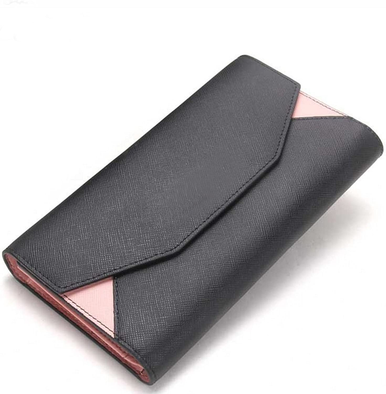 Leather Cowhide Women's Wallet Leather Coated Envelopes HandbagDYTUYGF