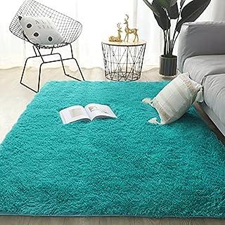 Pluizige vloerkleed Tapijten Zacht hoogpolig vloerkleed Binnenvloerkleden voor kinderkamer Fuzzy tapijt Comfortabel schatt...