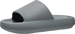 Pillow Slides for Women Men Squishy Platform Shower Shoes