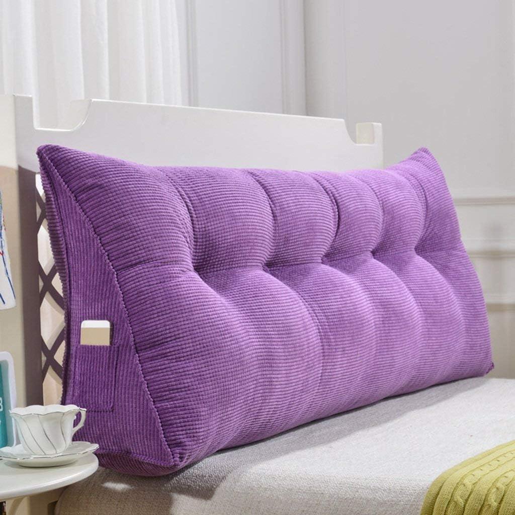 DNN Wedge-Shaped Triangle Cushion Year-end annual account shipfree Waist C Headboard Pillow Head