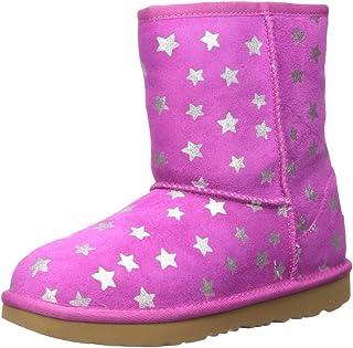 UGG Kids' K Classic Short Ii Stars Fashion Boot